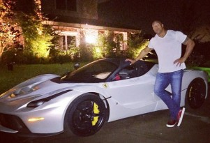 Dwayne 'The Rock' Johnson and the Ferrari LaFerrari