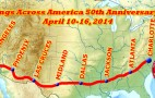 Mustangs Across America Announces 50th Anniversary Drive Dates