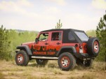 The Rugged Ridge PowerTop, for Jeep Wrangler Unlimited models.