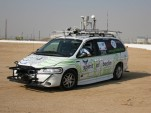 The Spirit of Berlin remote-controlled Dodge minivan