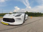 The SRT Viper GTS-R tests at Virginia International Raceway