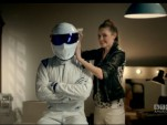 The Stig in wardrobe