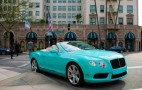 Beverly Hills Dealer Commissions Tiffany-Themed Bentleys