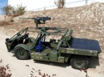 The U.S. Army's Clandestine Extended Range Vehicle (CERV). Image: Quantum Fuel Systems Technologies