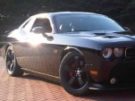 The weekend car of Fiat's Sergio Marchionne, a Dodge Challenger SRT8