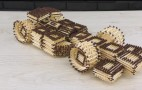 How to build an F1 car using only matchsticks