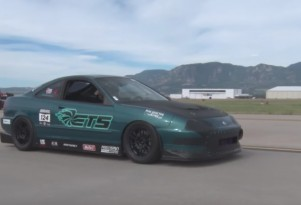 This is the fastest front-wheel-drive car in the 1/2-mile