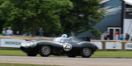 1956 Jaguar D-Type 'Long Nose' endurance racer at 2016 Goodwood Festival of Speed