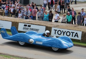 The Goodwood Festival of Speed even had a few green-ish cars