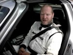 Tommy Kendall prepares to lap the Lausitzring in an SLS AMG  