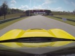 Tommy Milner drives the 2014 Chevy Corvette Stingray at VIR