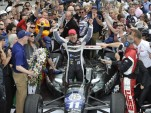 Tony Kanaan after winning the 2013 Indianapolis 500