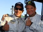 Tony Kanaan and Rubens Barrichello - KV Racing Technology photo