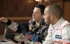 Tony Stewart Welcomes Lewis Hamilton To The U.S. Grand Prix: Video