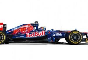 Toro Rosso STR7 2012 Formula 1 race car