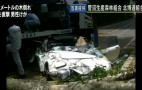 Tree Crushes Million-Dollar Toyota 2000 GT