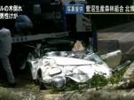 Toyota 2000 GT crushed by falling tree screencap