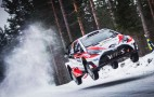Toyota tastes victory in only second rally of WRC comeback