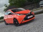 Toyota Aygo minicar European drive