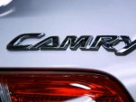 Toyota Camry trunk badge