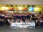 Toyota celebrates Drivers' and Manufacturers' titles in 2014 World Endurance Championship
