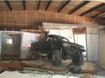Toyota demolition truck
