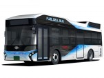 Toyota FC Bus hydrogen fuel-cell bus