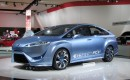 Toyota FCV-R hydrogen fuel-cell concept car, 2012 Detroit Auto Show