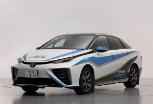 Toyota Fuel Cell Sedan 'Featured' At Rally Course In Japan