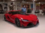 Toyota FT-1 Concept on Jay Leno's Garage