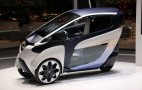 Self-Leaning Toyota i-Road Concept Debuts In Geneva: Video &amp; Live Photos
