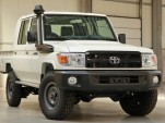 Toyota Land Cruiser 70 truck pops up on eBay