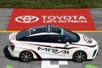 2016 Toyota Mirai Is First Fuel-Cell Car To Pace A NASCAR Race Tonight