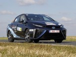 Toyota Mirai hydrogen fuel-cell car wins Monte Carlo e-Rally