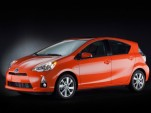 2012 Toyota Prius C Compact Hybrid On Sale In Japan, Detroit Launch Coming