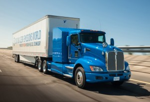 Toyota 'Project Portal' hydrogen fuel-cell heavy-duty semi tractor as proof of concept