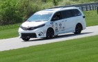 Toyota goes racing with the Sienna and we drive it