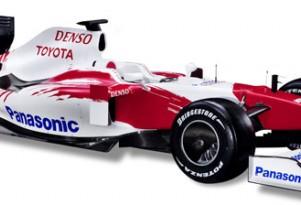 Toyota TF109 F1 race car