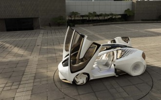 Toyota's newest concept car decides when you get to drive it
