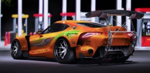 Toyota FT-1 Fast and Furious Supra livery