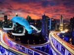 Toyota Cartivator SkyDrive flying car rendering