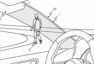 Toyota pillar cloaking device patent