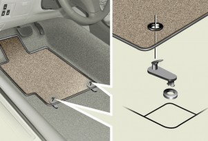 Toyota's Answer To Deadly Floor Mats: Zip Ties!