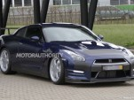Track-focused 2013 Nissan GT-R spy shots