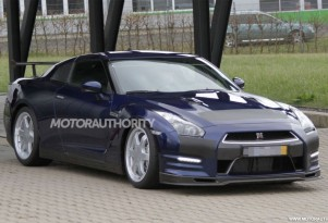Track-focused 2013 Nissan GT-R spy shots