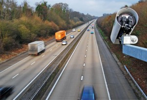 Traffic Camera on Britain's M3