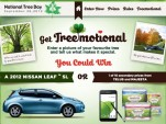 Canadians: Love A Tree, Win a Nissan Leaf (Or a Phone Or Tissues)