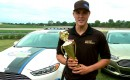 Trevor Bayne Wins Ford Fusion EcoBoost Challenge
