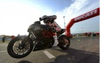 Ducati Faithful Take In A Drag Race At Misano