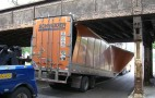 Downside of GPS Navigation Systems: Trucks Hitting Bridges